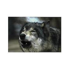 Howlin' Wolf Rectangle Magnet