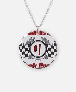 Racing1TRACKCOACH.png Necklace