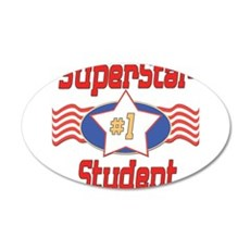 SUPERSTARstudent.png Wall Decal