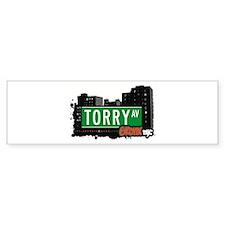 Torry Av, Bronx, NYC Bumper Bumper Sticker