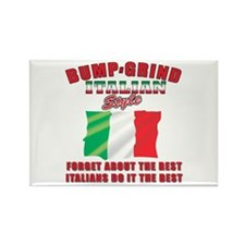 Italian bump and grind Rectangle Magnet (100 pack)