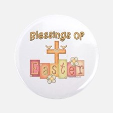 """heastercrossblessings copy.png 3.5"""" Button (100 pa"""