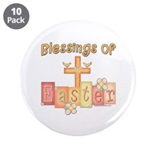 "heastercrossblessings copy.png 3.5"" Button (10 pac"