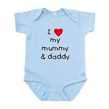 I love my mummy & daddy Infant Bodysuit