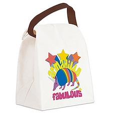 Armadillo Fabulous Canvas Lunch Bag