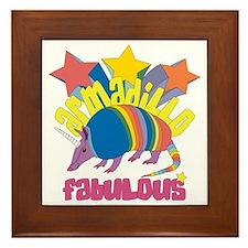 Armadillo Fabulous Framed Tile