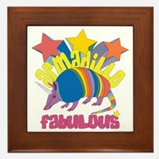 Armadillo Fabulous Framed Tile