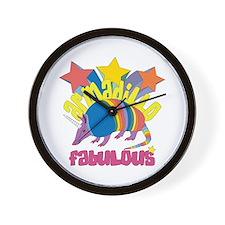 Armadillo Fabulous Wall Clock