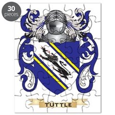 Tuttle Family Crest (Coat of Arms) Puzzle