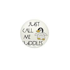 10x10_apparel penguin cuddlescopy.jpg Mini Button