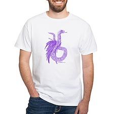 Purple Plumed Serpent Shirt