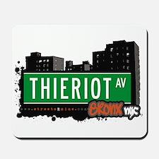 Thieriot Av, Bronx, NYC Mousepad