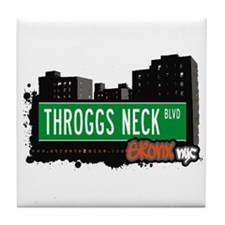 Throggs Neck Blvd, Bronx, NYC Tile Coaster