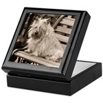 Abbey's Bench Cairn Keepsake Box