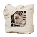 Abbey's Bench Cairn Tote Bag