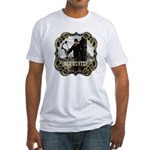 Bowhunter Archery logo Fitted T-Shirt