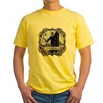 Bowhunter Archery logo Yellow T-Shirt