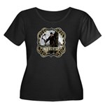 Bowhunter Archery logo Women's Plus Size Scoop Ne