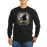 Bowhunter Archery logo Long Sleeve Dark T-Shirt