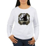 Bowhunter Archery logo Women's Long Sleeve T-Shir