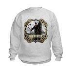 Bowhunter Archery logo Kids Sweatshirt