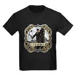 Bowhunter Archery logo Kids Dark T-Shirt