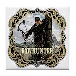 Bowhunter Archery logo Tile Coaster