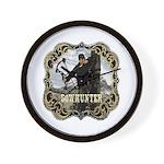 Bowhunter Archery logo Wall Clock