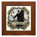Bowhunter Archery logo Framed Tile