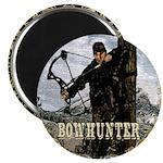 Bowhunter Archery logo Magnet