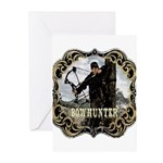 Bowhunter Archery logo Greeting Cards (Package of