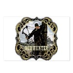 Bowhunter Archery logo Postcards (Package of 8)