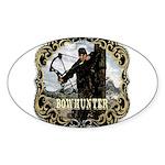 Bowhunter Archery logo Oval Sticker