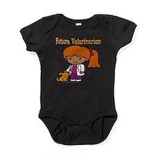FunnyNewfuturevetblack copy.png Baby Bodysuit