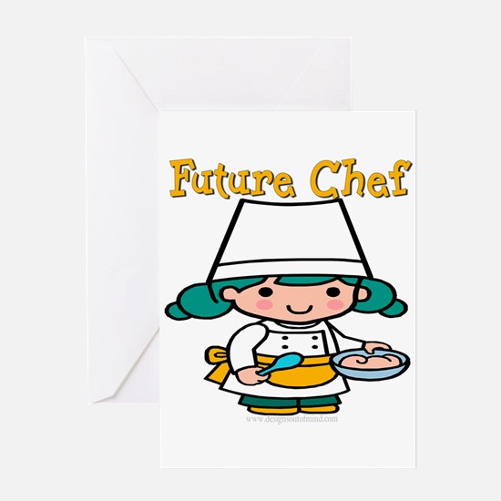 FunnyNewfuturechef copy.png Greeting Card