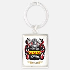 Tylor Family Crest (Coat of Arms Portrait Keychain