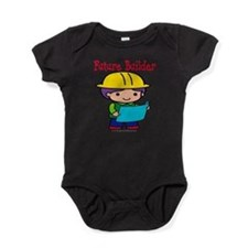 FunnyNewfuturebuilder copy.png Baby Bodysuit