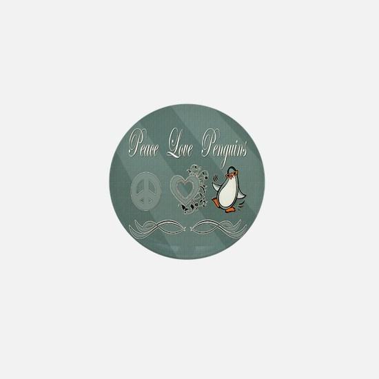 Peace love poker Mini Button