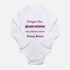No glass slipper - Rid Long Sleeve Infant Bodysuit