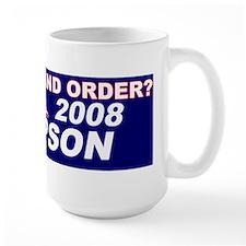 Law and Order Mug
