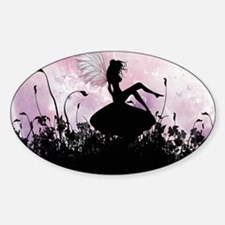 Fairy Silhouette Decal