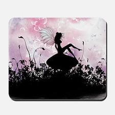 Fairy Silhouette Mousepad