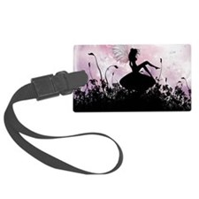 Fairy Silhouette Luggage Tag