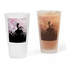 Fairy Silhouette Drinking Glass