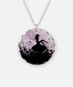 Fairy Silhouette Necklace