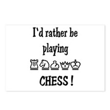 Rather Play Chess Postcards (Package of 8)