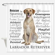 Labrador Traits Shower Curtain