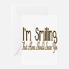10x10_apparel smiling copy.jpg Greeting Card