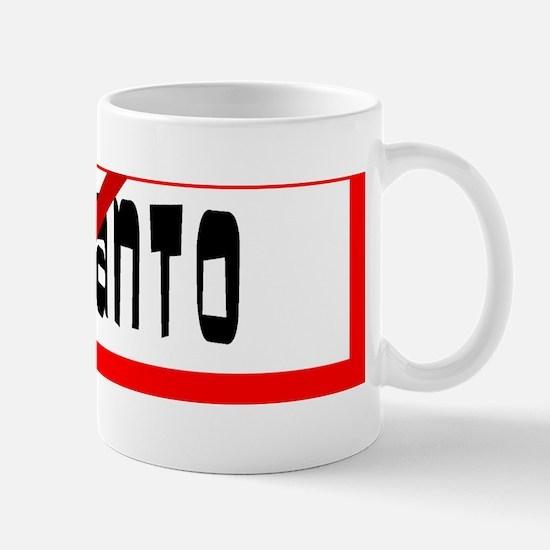 No Monsanto Allowed Mug