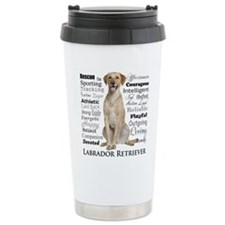 Labrador Traits Travel Mug